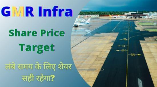 GMR Infra share price target 2022, 2023, 2025, 2030