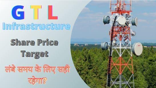 GTL Infra share price target 2022, 2023, 2025, 2030