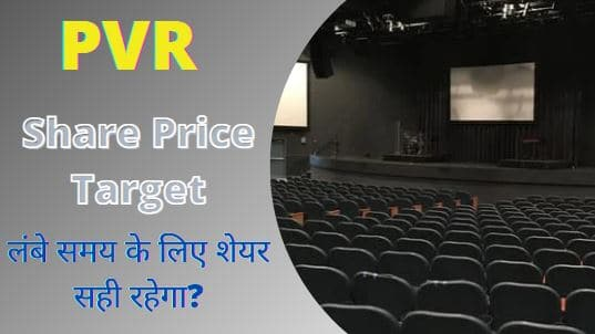 PVR share price target 2022, 2023, 2025, 2030