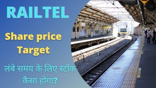 Railtel share price target 2022, 2023, 2025, 2030