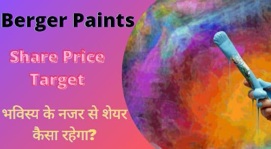 Berger paints share price target 2022, 2023, 2025, 2030